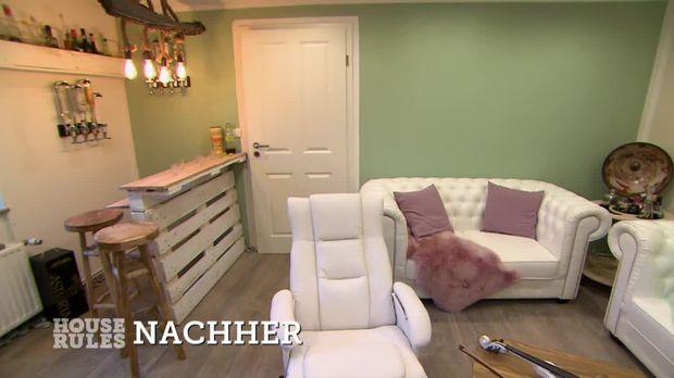 Vorher-Nachher: Wohnzimmer