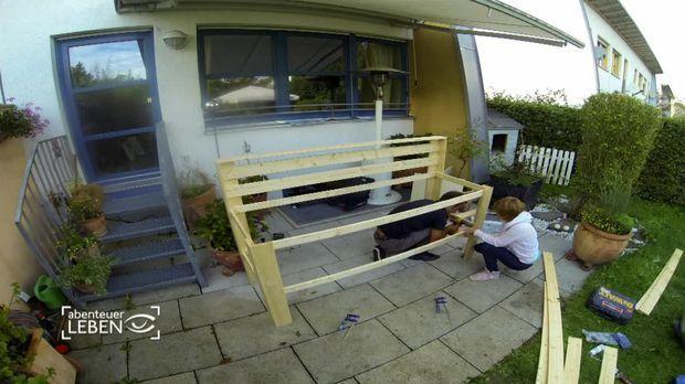 Gartenküche selber bauen – für nur 150 Euro!
