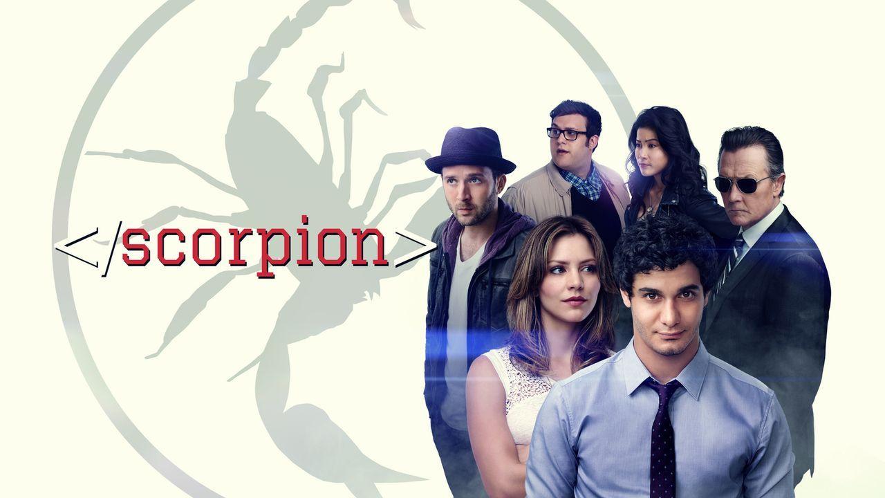 (4. Staffel) - Scorpion - Artwork - Bildquelle: 2017 CBS Broadcasting, Inc. All Rights Reserved.