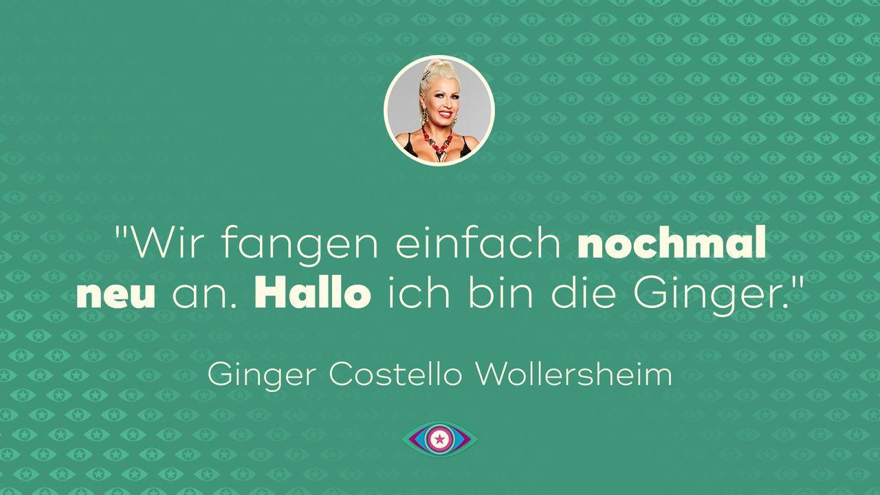 Tag 2: Ginger Wollersheim - Neuanfang
