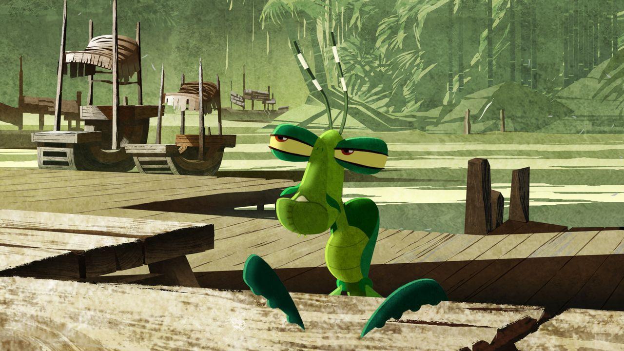 Den kleinen Mantis bringt nichts so leicht aus der Ruhe - außer vielleicht eine weibliche Gottesanbeterin ... - Bildquelle: 2008 DREAMWORKS ANIMATION LLC. ALL RIGHTS RESERVED.