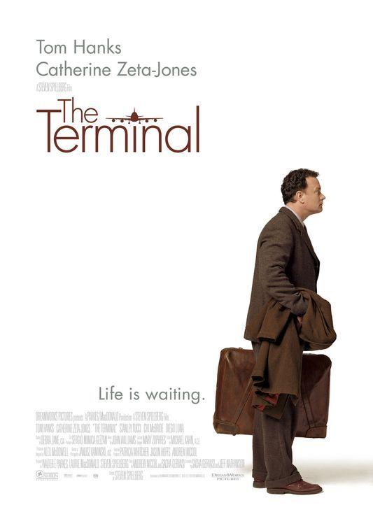 Victor Navorski (Tom Hanks) ist von einer Sekunde zur anderen Heimatlos und muss deshalb einige Zeit am Flughafen verbringen ... - Bildquelle: Merrick Morton DreamWorks Distribution LLC
