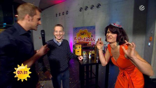 fruehstuecksfernsehen-silvester-2011-10 - Bildquelle: Sat.1