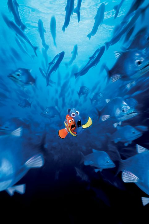 Der Ozean hält viele Überraschungen für Marlin (l.) und Dorie (r.) bereit. Ob die beiden den kleinen Nemo jemals wiederfinden werden? - Bildquelle: Walt Disney Pictures