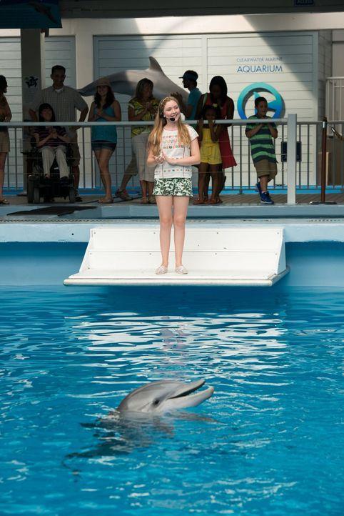 Was bedeutet der Tod von Panama für das Aquarium und Hazel (Cozi Zuehlsdorff)? - Bildquelle: Warner Brothers Entertainment Inc.