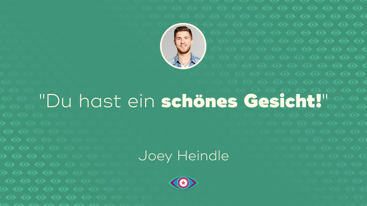 Tag 2: Joey Heindle - Gesicht