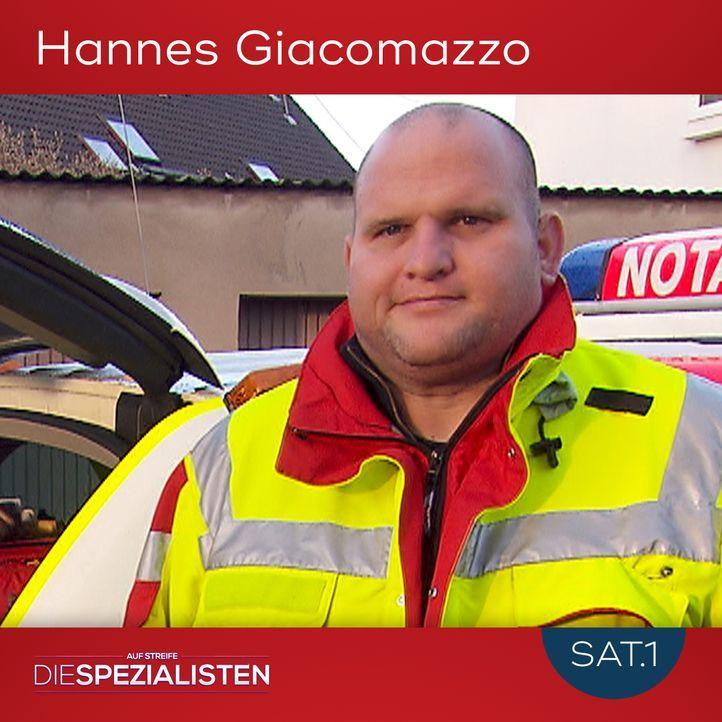 Hannes Giacomazzo - Bildquelle: SAT.1