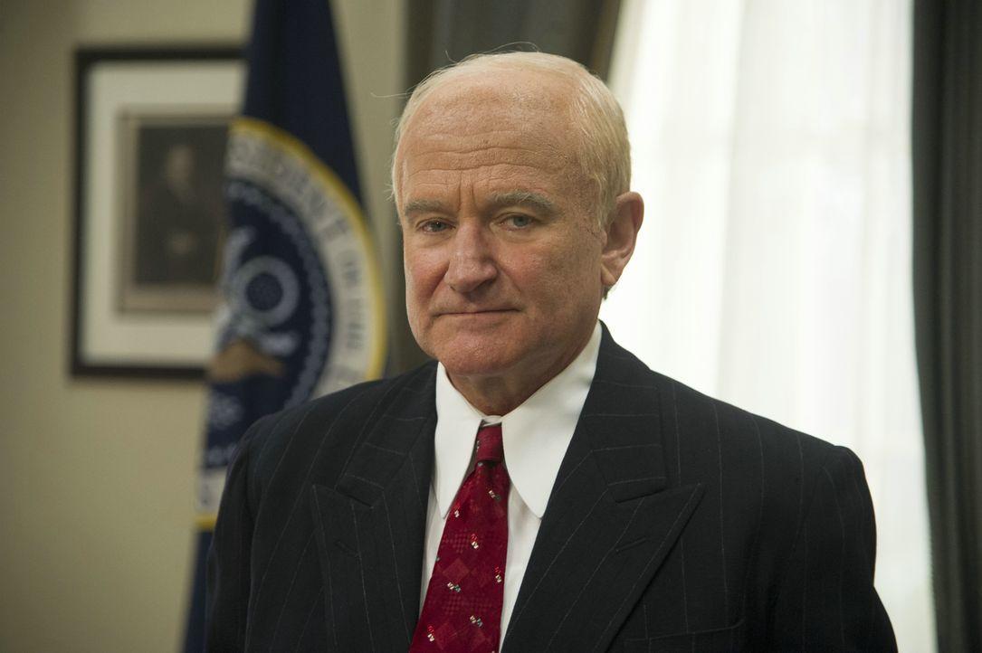 Ob Eisenhower (Robin Williams), Kennedy, Nixon oder Reagan - immer ist Butler Cecil Gaines dabei, wenn die Präsidenten Weltgeschichte schreiben. Ein... - Bildquelle: Prokino Filmverleih GmbH
