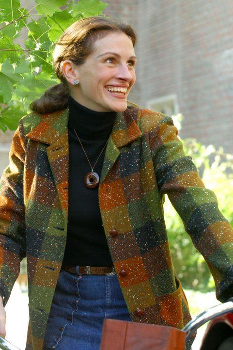 Bereits kurze Zeit nach ihrer Ankunft am renommierten Wellesley-Mädchen-College, sieht sich die frei denkende Dozentin für Kunstgeschichte, Kather... - Bildquelle: 2004 Sony Pictures Television International. All Rights Reserved.