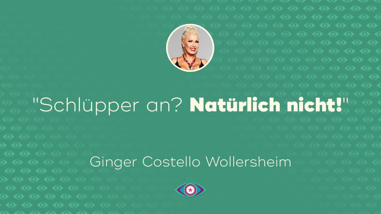 """""""Promi Big Brother"""" 2019: Ginger und ihr Schlüpper - Bildquelle: SAT.1"""
