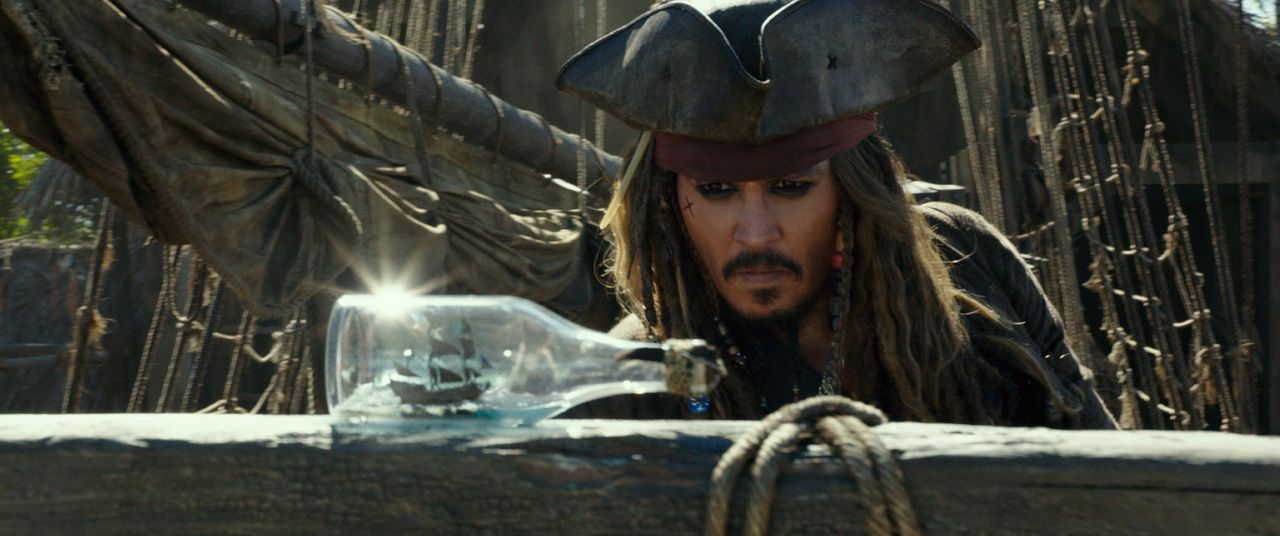 Captain Jack Sparrow (Johnny Depp) - Bildquelle: Disney Enterprises, Inc. All Rights Reserved.