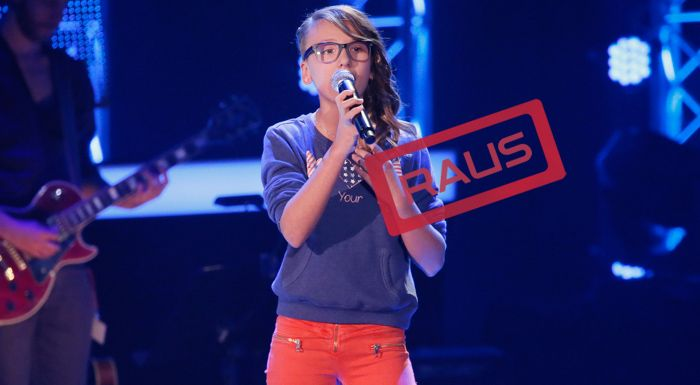 The-Voice-Kids-Stf04-RAUS-Jessy-SAT1-Richard-Huebner - Bildquelle: © SAT.1/ Richard Hübner