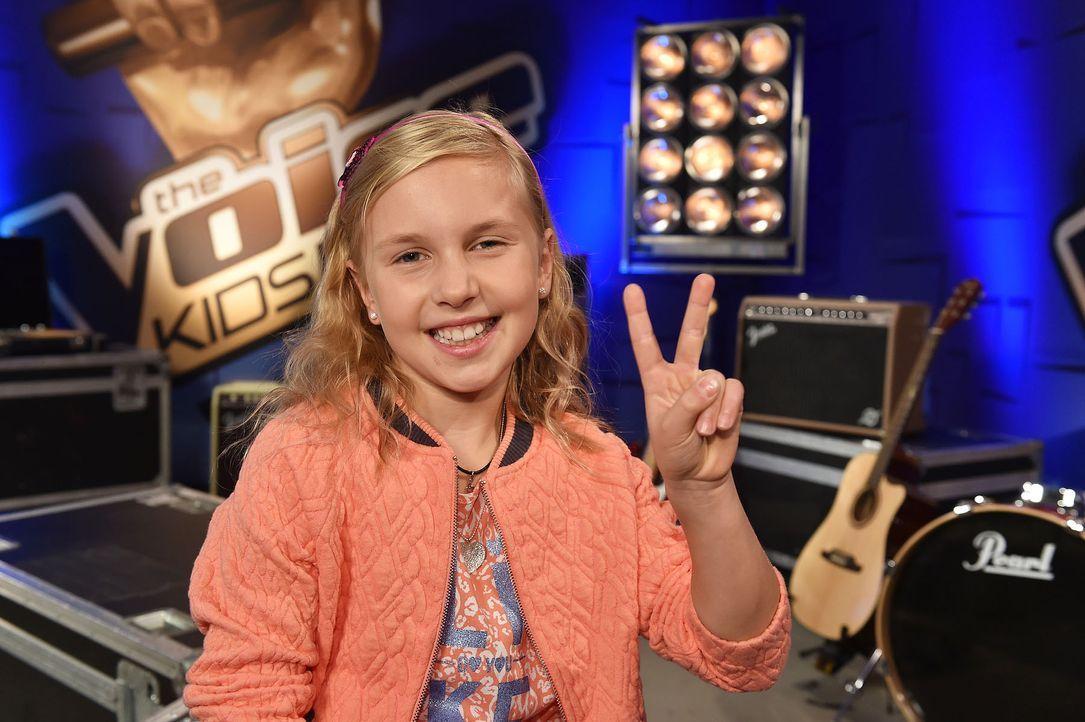 The-Voice-Kids-Emma-03-SAT1-Andre-Kowalski - Bildquelle: SAT.1 / Andre Kowalski