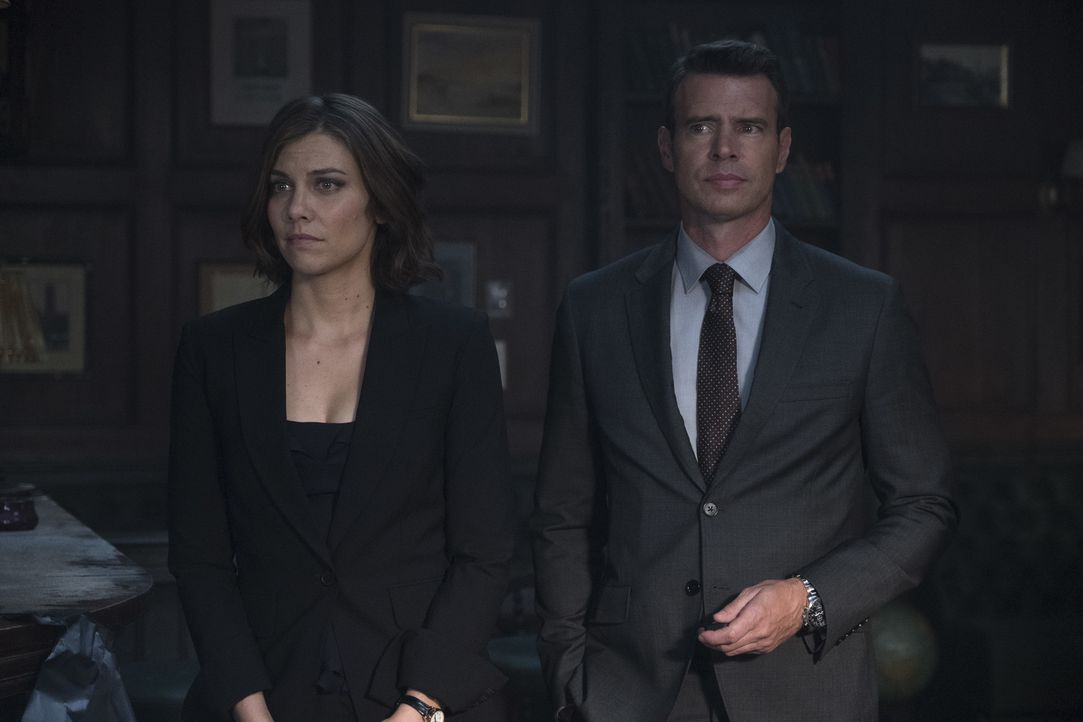 Frankie Trowbridge (Lauren Cohan, l.); Will Chase (Scott Foley, r.) - Bildquelle: Larry D Horricks 2018 American Broadcasting Companies, Inc. All rights reserved.