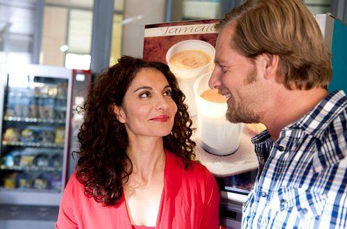 Mick (Henning Baum) ist nicht gewillt, noch eine Frau an seinen Rivalen zu verlieren... - Bildquelle: Martin Rottenkolber - Sat1