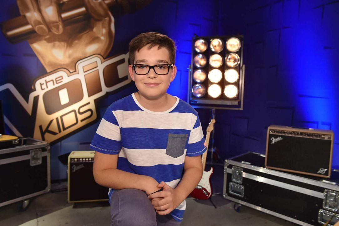 The-Voice-Kids-Stf04-Epi04-Maxime-01-SAT1-Andre-Kowalski - Bildquelle: © SAT.1 / André Kowalski