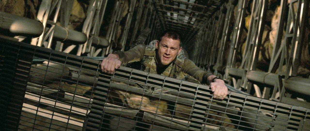 Wird in die Truppe der G.I. Joes aufgenommen und bewährt sich schon bald: Elitesoldat Duke (Channing Tatum) ... - Bildquelle: 2009 Paramount Pictures Corporation. All Rights Reserved. Reserved.