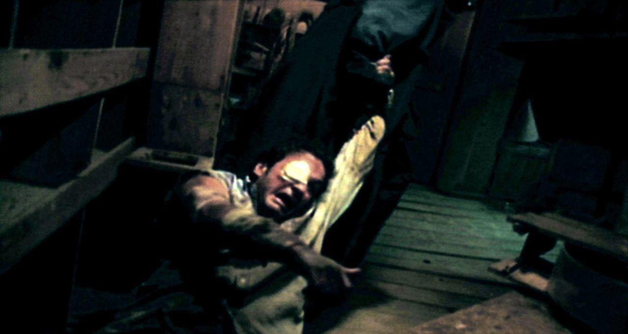 Nach einem Einbruch im Haus seines Auftraggebers, wird Truman Fisher, ein skrupelloser Gangster, damit beauftragt, den entführten Neffen (Marc Héb... - Bildquelle: Splendid Entertainment