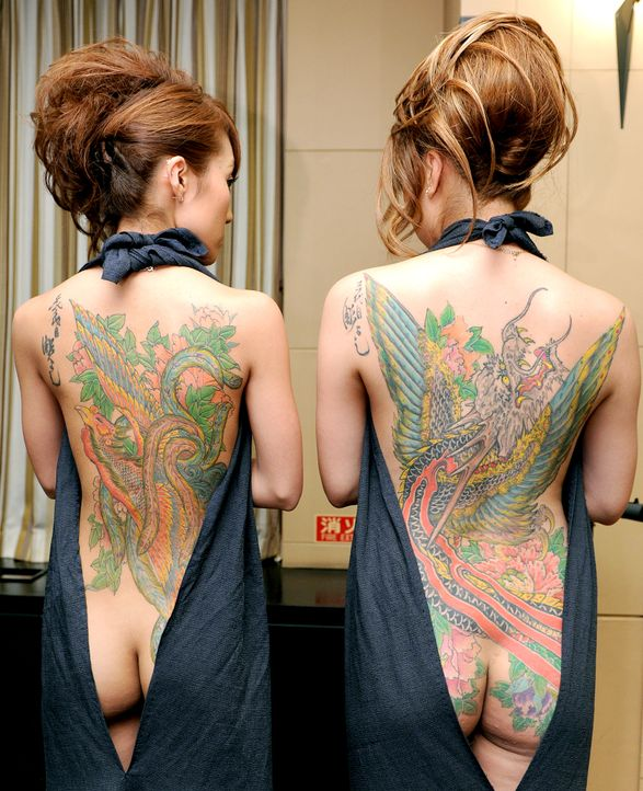 Tebori-Tattoo-Japan-3-AFP - Bildquelle: dpa