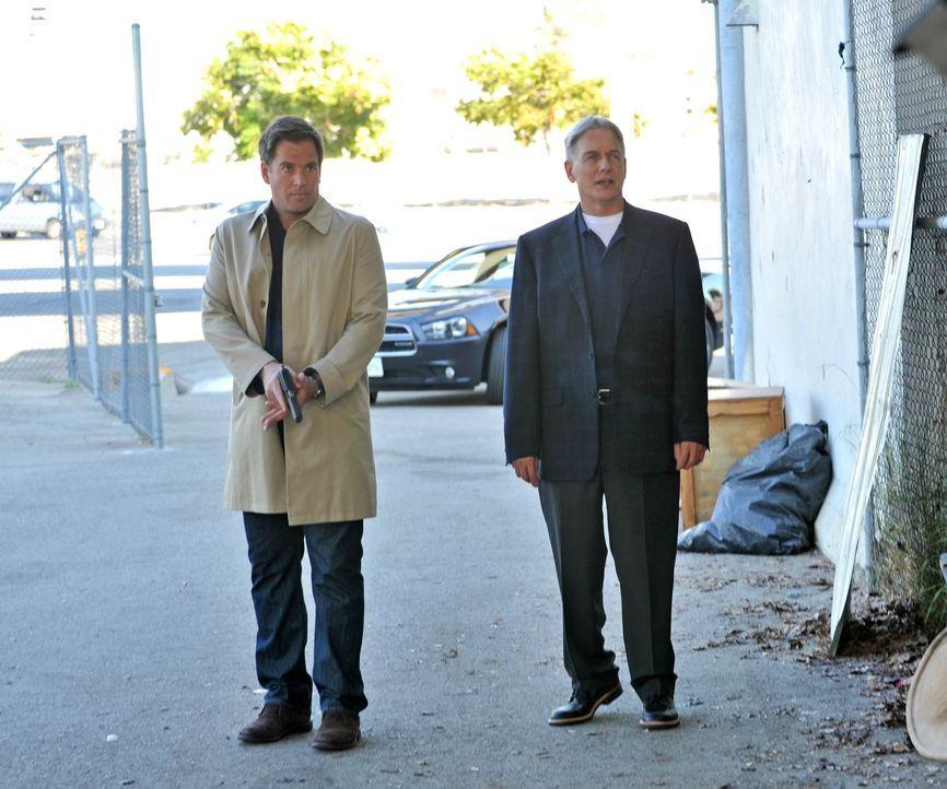 Ein neuer Fall wartet auf Gibbs (Mark Harmon, r.) und Tony (Michael Weatherly, l.) ... - Bildquelle: CBS Television