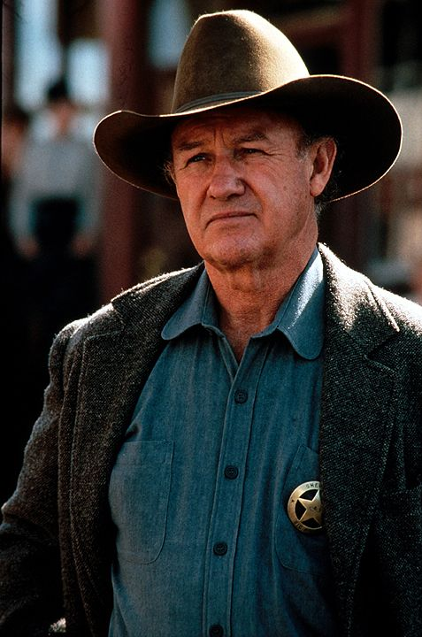 Little Bill Daggett (Gene Hackman) ist ein gewalttätiger und selbstherrlicher Sheriff ... - Bildquelle: 1992 Warner Bros. Entertainment Inc. All rights reserved.