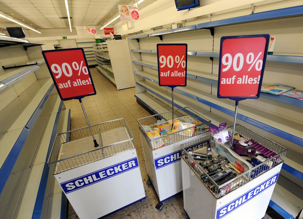 Schlecker-Markt-13-01-17-dpa - Bildquelle: dpa