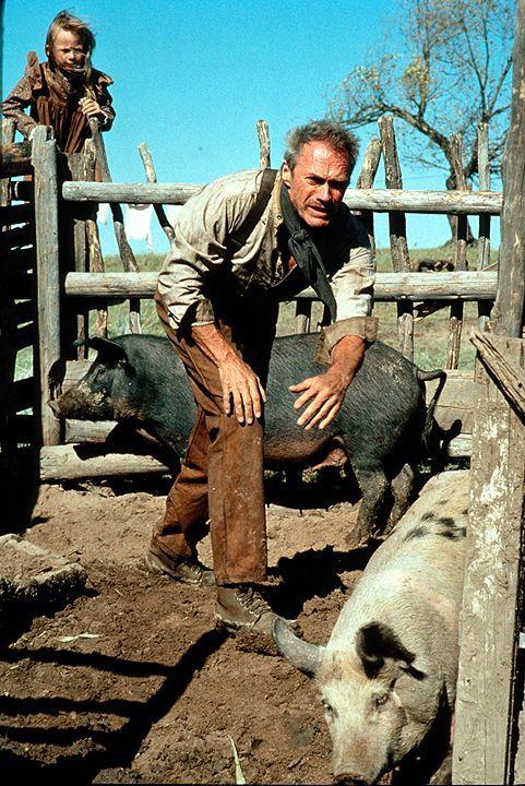 William Munney (Clint Eastwood) war ein gefürchteter Revolverheld, bevor er heiratete und sich aufs Land zurückzog. Nach dem Tod seiner Frau betreib... - Bildquelle: 1992 Warner Bros. Entertainment Inc. All rights reserved.