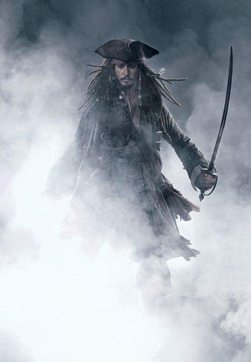 Seine Freunde starten einen verzweifelten Versuch, um ihn zu retten: Jack Sparrow (Johnny Depp) ... - Bildquelle: Disney Enterprises, Inc.  All rights reserved
