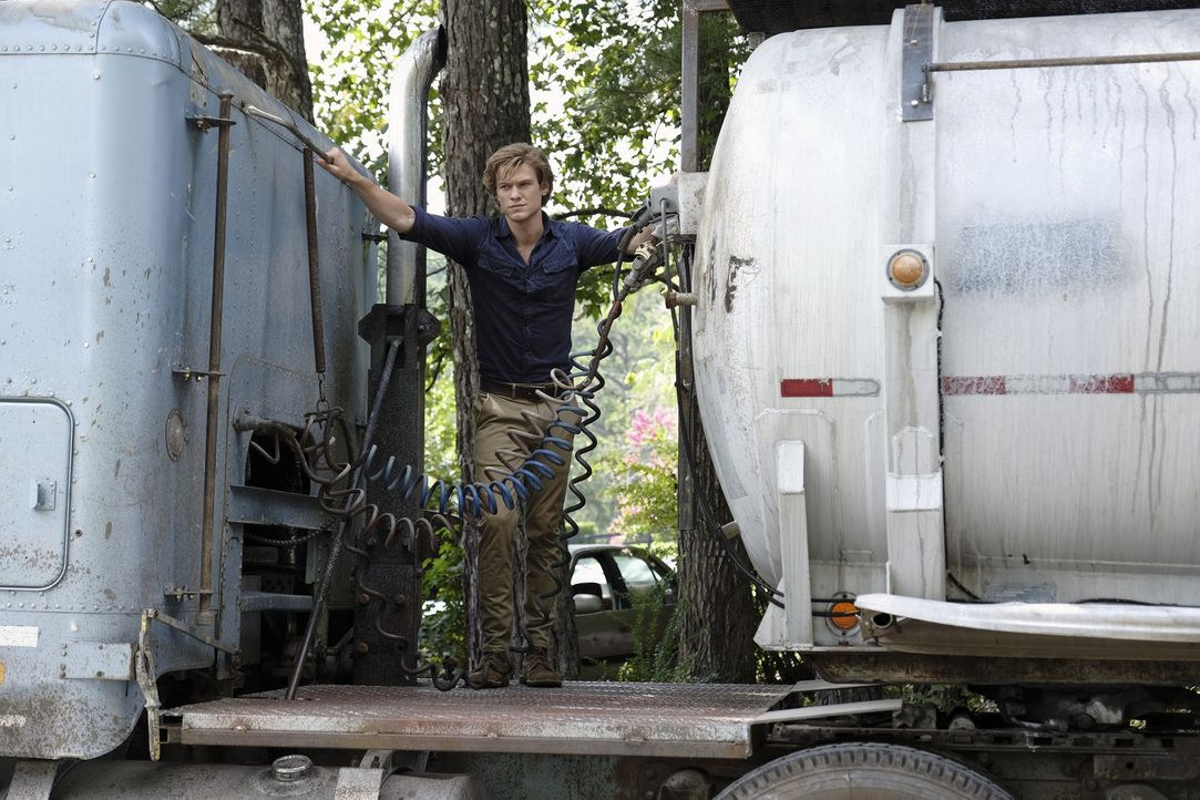 MacGyver (Lucas Till) - Bildquelle: Guy D'Alema 2018 CBS Broadcasting, Inc. All Rights Reserved.