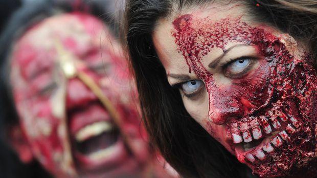Halloween Kostüm Zombie So Werden Sie Zum Untoten Sat1