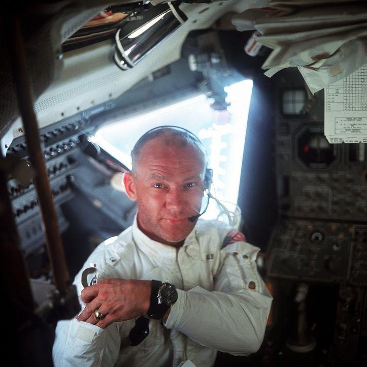 Buzz Aldrin - Bildquelle: Spiegel TV