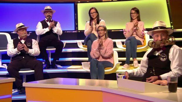 Genial Daneben - Das Quiz - Genial Daneben - Das Quiz - Im Geschlechter-teamspecial Heute: Bartweltmeister Vs. Drillinge