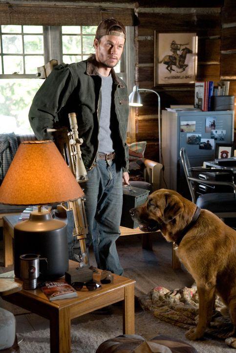 Bob Lee Swagger (Mark Wahlberg) war der beste Scharfschütze in der Army. Bis er bei einem Einsatz hängen gelassen wurde, was seinen jungen Partner d... - Bildquelle: 2007 by PARAMOUNT PICTURES. All Rights Reserved.