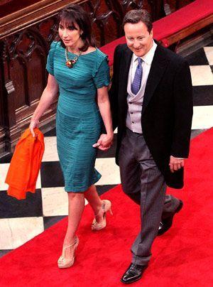 William-Kate-Westminster-Abbey-David-Cameron-Samantha-11-04-29-300_404_AFP - Bildquelle: AFP