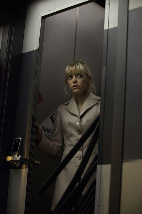 In Gefahr: Gwen (Emma Stone) ... - Bildquelle: Jaimie Trueblood 2012 Columbia Pictures Industries, Inc.  All Rights Reserved.