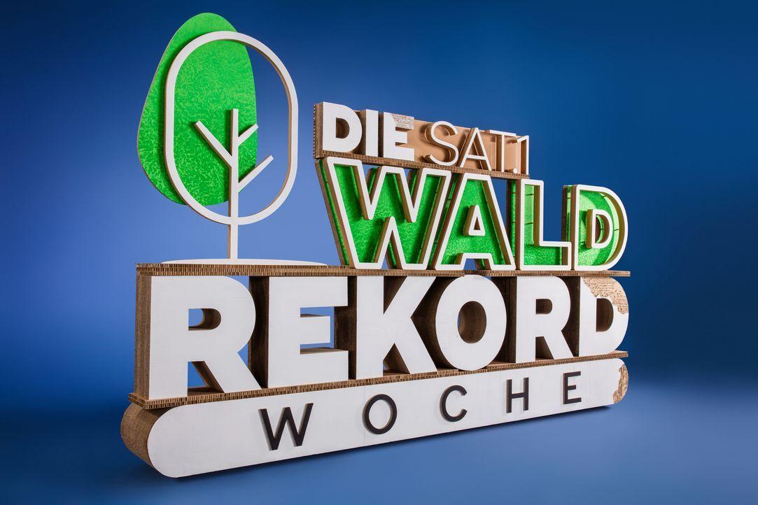 Die SAT.1 Waldrekord-Woche - Logo - Bildquelle: Boris Breuer SAT.1 / Boris Breuer