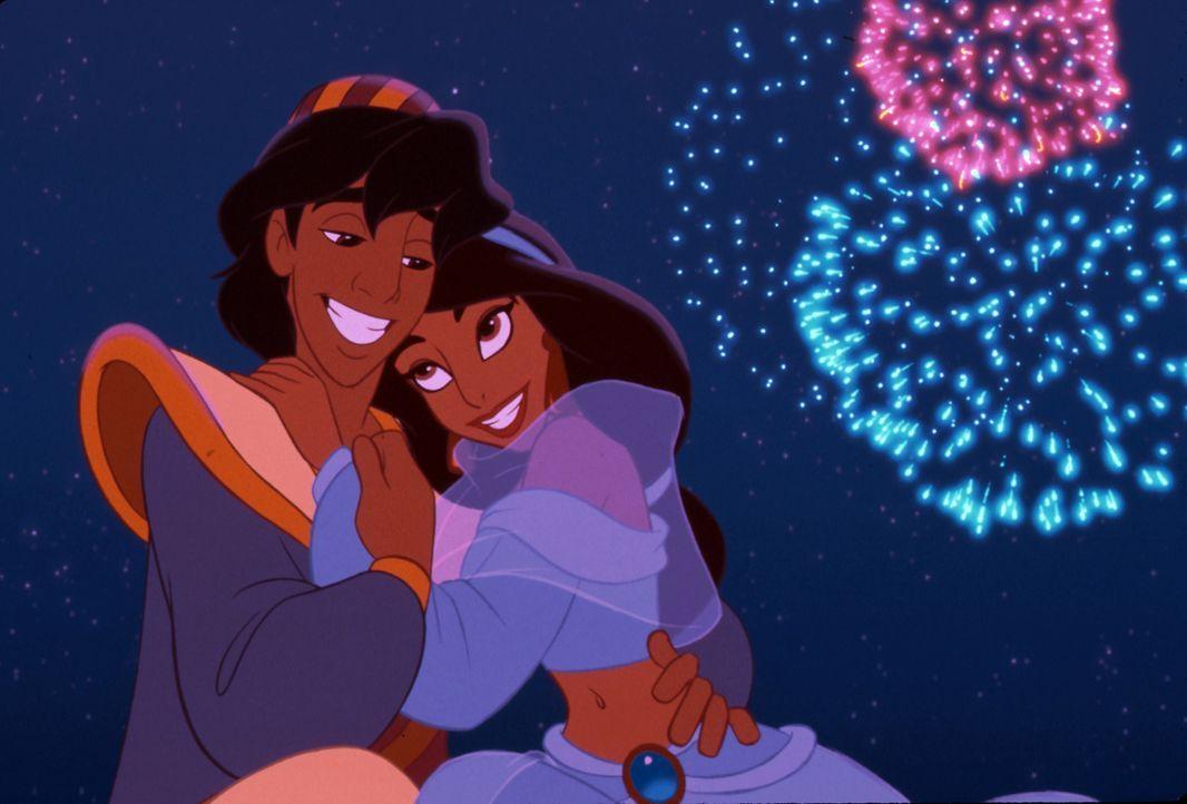 Aladdin (l.); Jasmin (r.) - Bildquelle: The Walt Disney Company