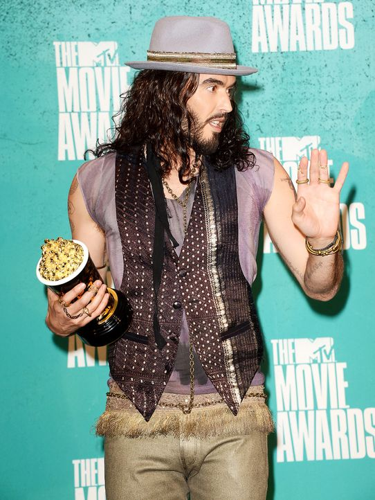 mtv-movie-awards-Russell-Brand-12-06-03-getty-AFP - Bildquelle: getty-AFP