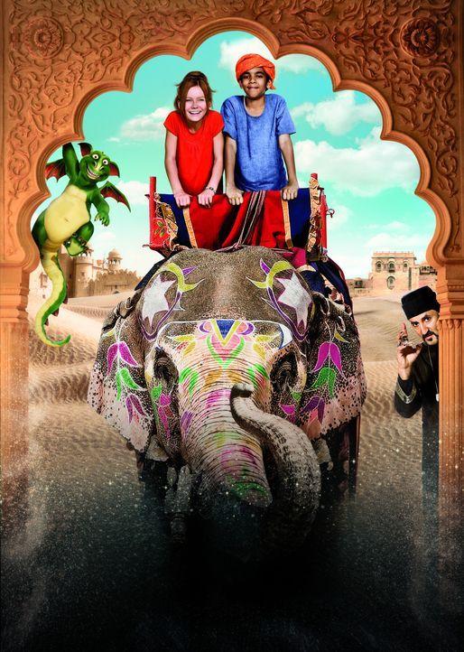 """""""HEXE LILLI - DIE REISE NACH MANDOLAN"""" - Artwork - Bildquelle: Disney"""