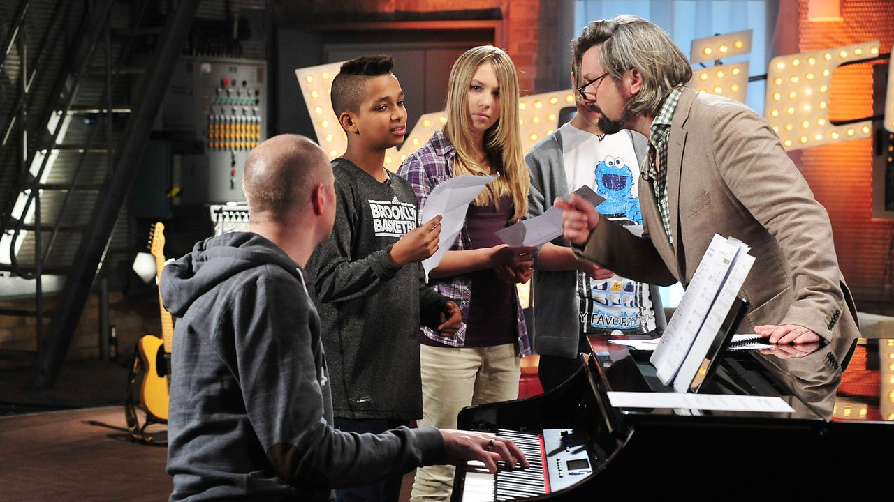 The-Voice-Kids-Stf02-Epi05-Danyiom-Lukas-Michele-11-SAT1-Andre-Kowalski - Bildquelle: SAT.1/Andre Kowalski