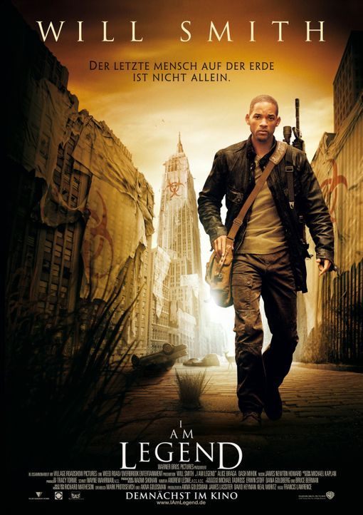 I AM LEGEND - Plakatmotiv - Bildquelle: Warner Brothers International