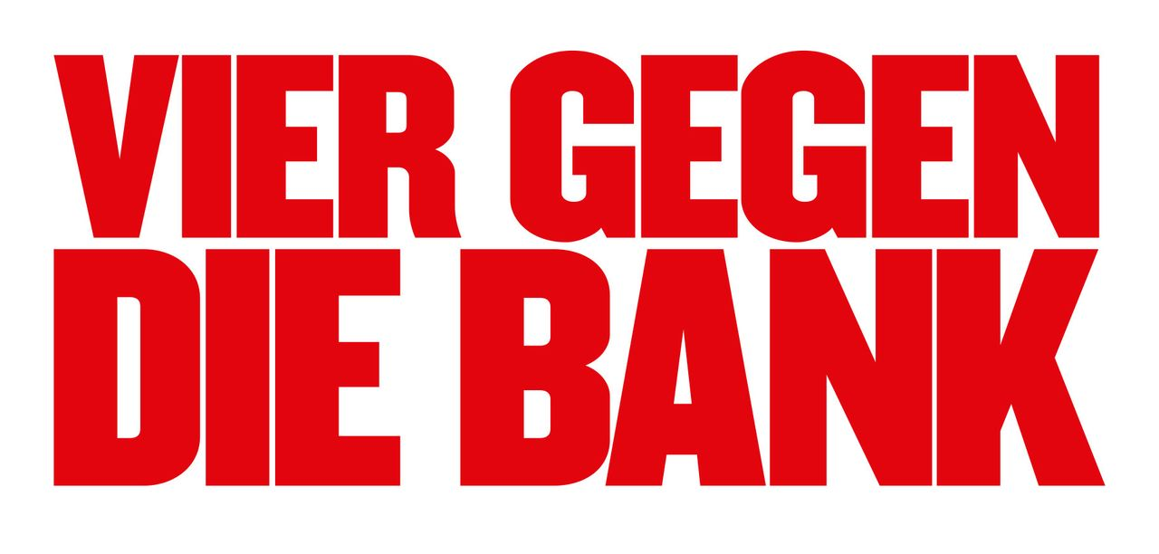 Vier gegen die Bank - Logo - Bildquelle: 2016 Hellinger/Doll Filmproduktion GmbH/Warner Bros. Entertainment GmbH. All rights reserved.