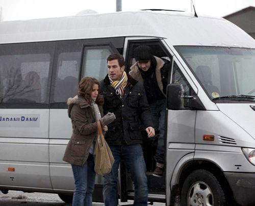 Stehen vor einem Problem: (v.l.n.r.) Bea (Vanessa Jung), Michael (Andreas Jancke) und Ben (Christopher Kohn). - Bildquelle: David-Saretzki - Sat1