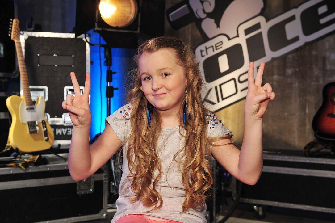 The-Voice-Kids-Stf02-Epi07-Vanessa-01-SAT1-Andre-Kowalski - Bildquelle: SAT.1/Andre Kowalski