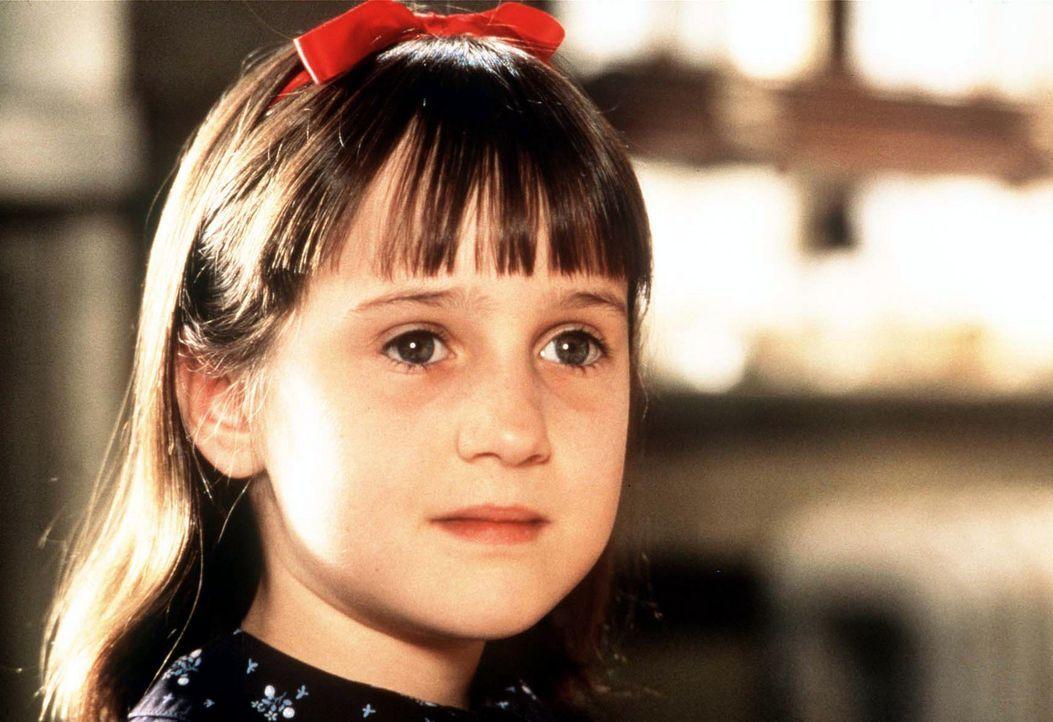 Unschlagbar: Matilda (Mara Wilson) ... - Bildquelle: Columbia TriStar