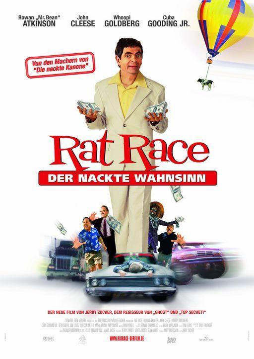 Rat Race - Plakatmotiv: (v.l.n.r.) Jon Lovitz, John Cleese, Rowan Atkinson, Whoopi Goldberg und Cuba Gooding Jr. ... - Bildquelle: Senator Film
