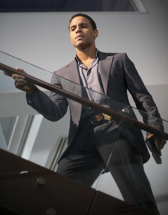 Winston Garano (Daniel Sunjata), Beamter der Massachusetts State Police ist klug, eigenwillig und völlig unkorrumpierbar. Und für alle Mörder eine w... - Bildquelle: ONCE UPON A TIME FILMS, LTD. ALL RIGHTS RESERVED.
