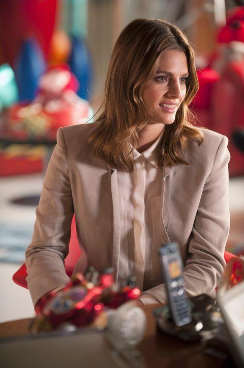 Kate Beckett (Stana Katic) ist überglücklich, dass sie Castle endlich wieder an ihrer Seite hat. Doch was hinter seinem zeitweiligen mysteriösen Ver... - Bildquelle: ABC Studios