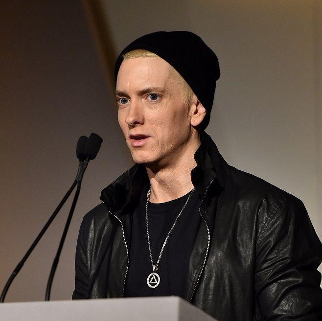 Eminem - Bildquelle: afp: Dimitrios Kambouris