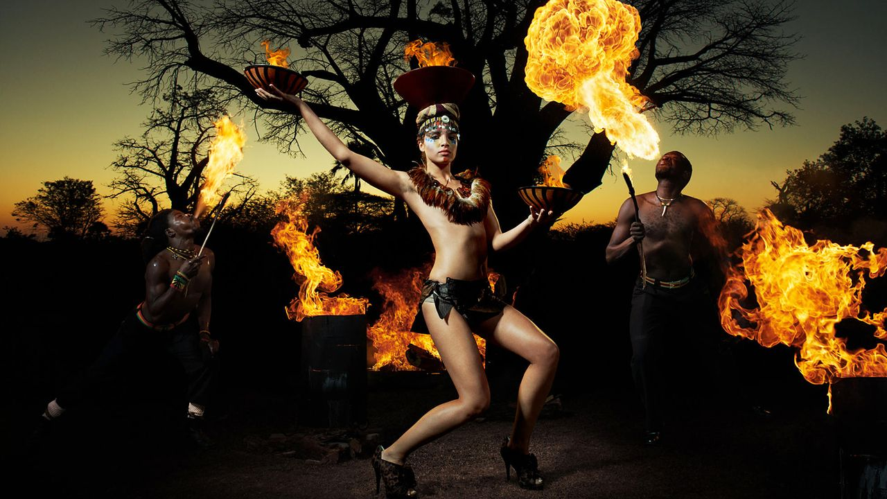 MDSS-Feuer-Shooting-Yuliya-Sat1-Oliver-Gast - Bildquelle: Oliver Gast